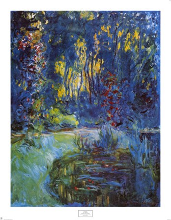 Jardin de Giverny by Claude Monet art print