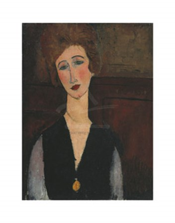 Portrait of a Woman, c.19171918 by Amedeo Modigliani art print