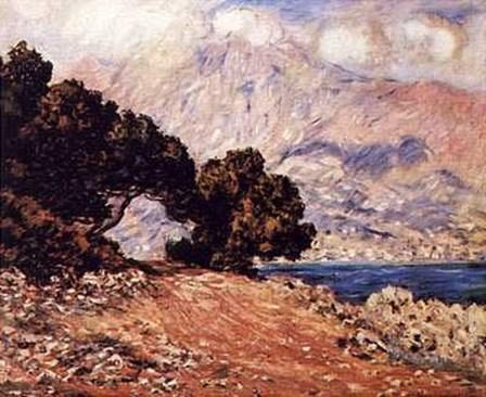 Cape Martin, Menton by Claude Monet art print