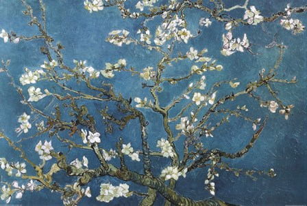 Buy Blossoming Almond Tree Print online at the Van Gogh Gallery Art Store