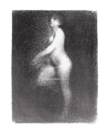 Nude, 1881-2 by Georges Seurat art print