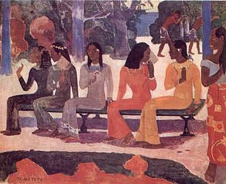 Ta Matete by Paul Gauguin art print