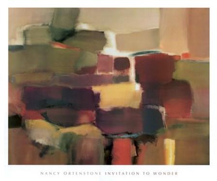 Invitation to Wonder by Nancy Ortenstone art print