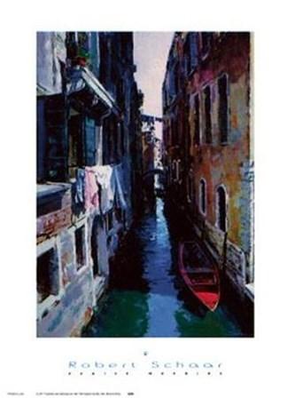 Venice Morning by Robert Schaar art print
