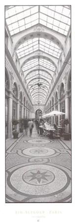 La Galerie by Jim Alinder art print