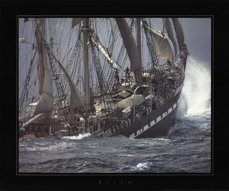 Belem by Philip Plisson art print