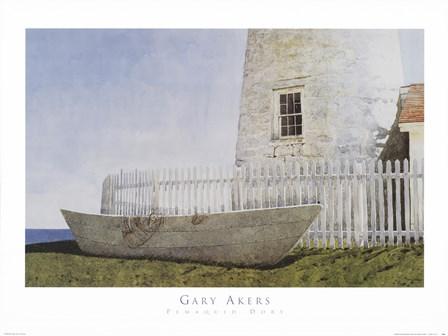 Pemaquid Dory by Gary Akers art print