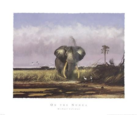 On the Nunga by Michael Coleman art print