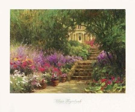 Garden Steps by Allan Myndzak art print