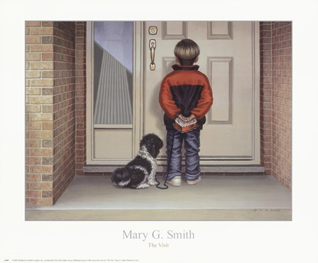 The Visit by Mary G. Smith art print