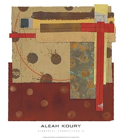 Elemental Connections III by Aleah Koury art print