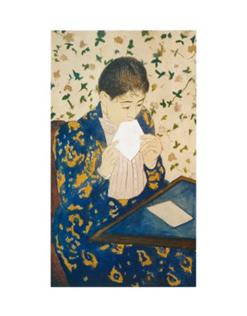 The Letter by Mary Cassatt art print
