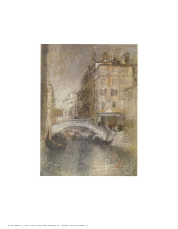 Venice by James Abbott McNeill Whistler art print
