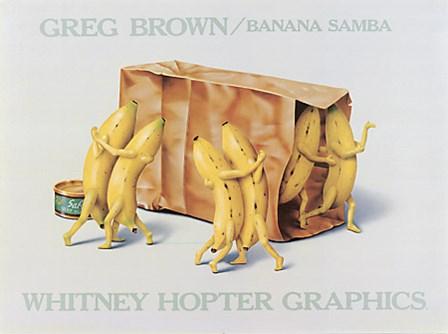 Banana Samba by Greg Brown art print