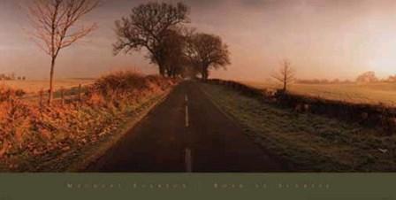 Road at Sunrise by Macduff Everton art print