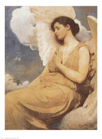 Winged Figure by Abbott Handerson Thayer art print