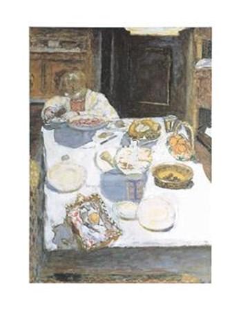 Table, 1925 by Pierre Bonnard art print