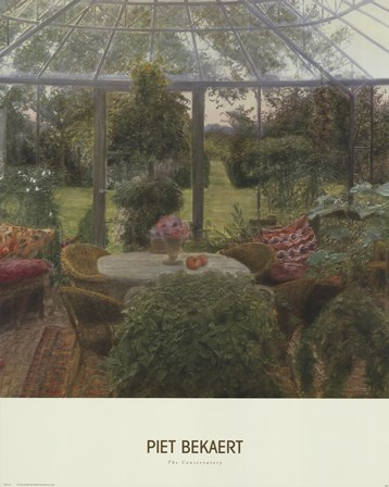 The Conservatory by Piet Bekaert art print