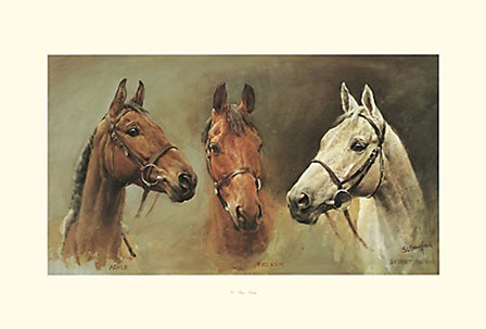 We Three Kings by Susan Crawford art print