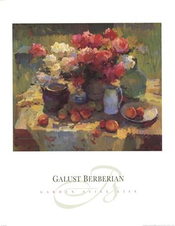 Garden Still Life by Ovanes Berberian art print