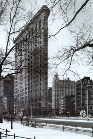 Flat Iron Building by Christopher Bliss art print