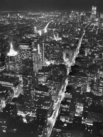 Manhattan (full bleed) by Christopher Bliss art print