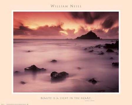 Hana Coast Sunrise by William Neill art print