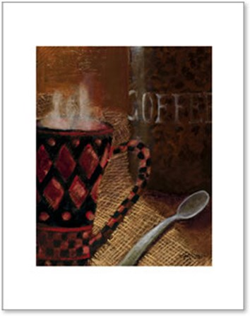Still Life with Coffee II by Kristy Goggio art print