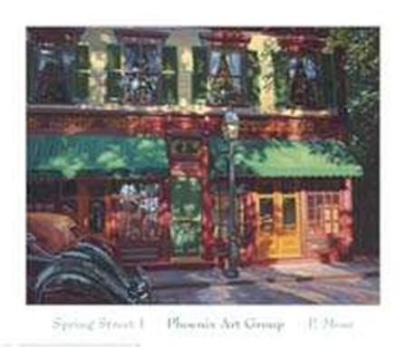 Spring Street I by P. Moss art print