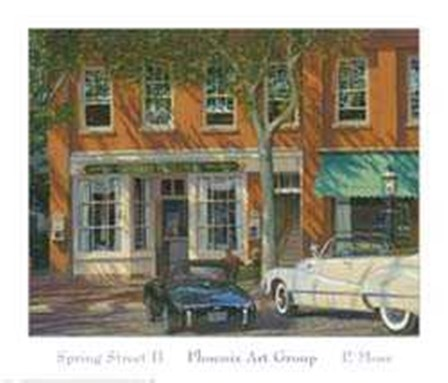 Spring Street II by P. Moss art print
