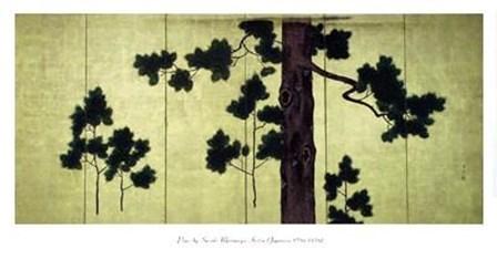 Pines by Kitsu art print