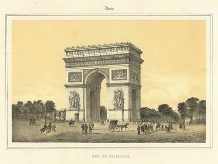 Arc De Triomphe art print