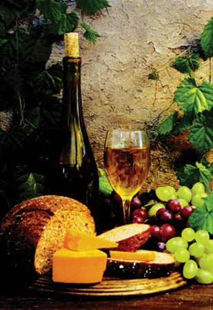 Wine Club l by Fred Wood art print