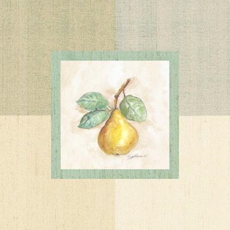 Pear Inside by Peggy Abrams art print