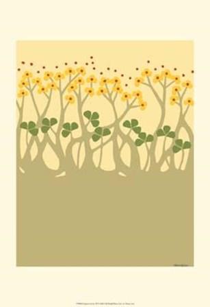 Organic Grove III by Vanna Lam art print