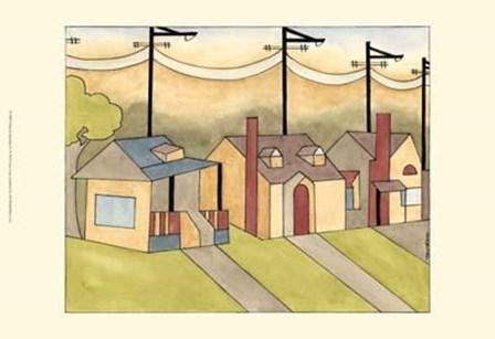 Urban Suburban No4 by Vanna Lam art print