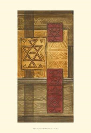 Grasslands Batik I by Ethan Harper art print