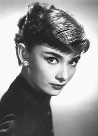 Audrey Hepburn - Close Up (Mural) art print