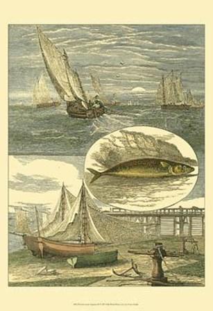 Fisherman's Vignette IV by Vision Studio art print