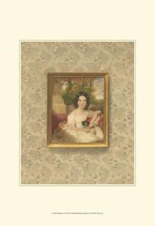 Miniature Portrait III by Franz Hanfstaengl art print