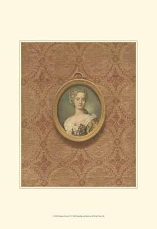 Miniature Portrait VI by Franz Hanfstaengl art print