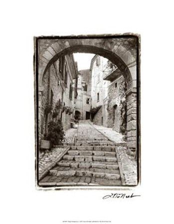 Village Passageway by Laura Denardo art print
