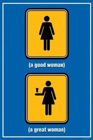 Good Woman Great Woman art print