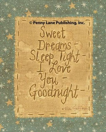 Goodnight Wishes by Vicki Huffman art print