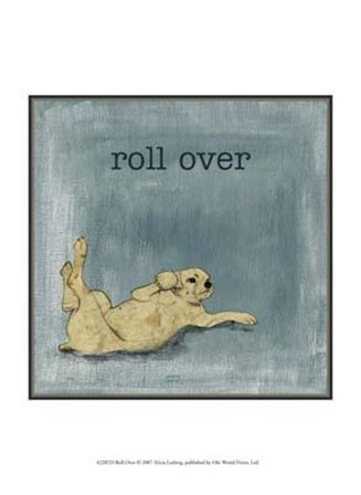 Roll Over by Alicia Ludwig art print