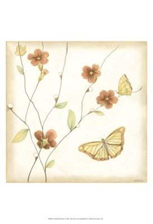Butterfly Branch by June Erica Vess art print