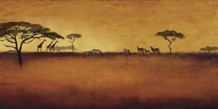 Serengeti I by Tandi Venter art print