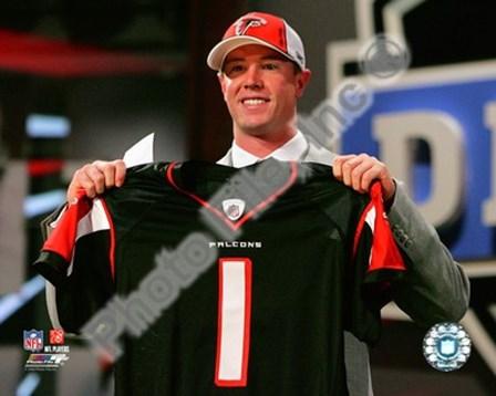 Matt Ryan Draft Day - 2008 NFL Draft # 3 Pick art print
