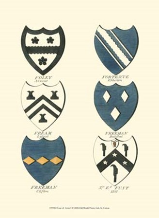 Coat of Arms I by Catton art print