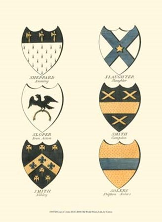 Coat of Arms III by Catton art print